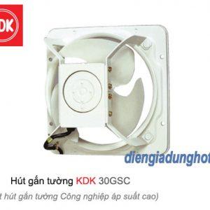 Quạt hút gắn tường công nghiệp áp suất cao KDK 30GSC