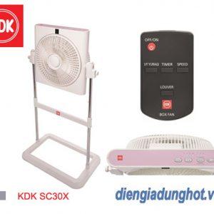 Quạt hộp KDK SC30X