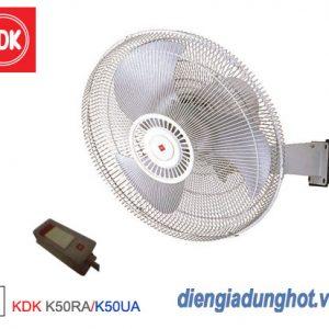 Quạt treo tường công nghiệp KDK K50RA